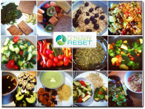 ultimate reset team beachbody food